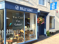 Billy Goat shop Alresford Hampshire